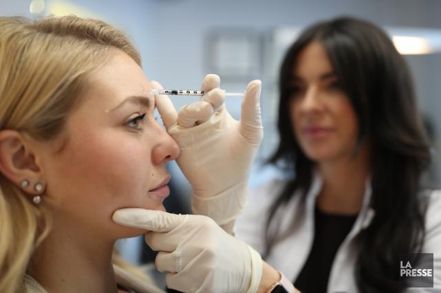 Les injections de Botox sont désormais utilisées de... (PHOTO Martin Chamberland, LA PRESSE)