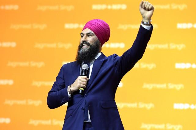 Le chef du Nouveau Parti démocratique (NPD), Jagmeet... (Photo La Presse canadienne)