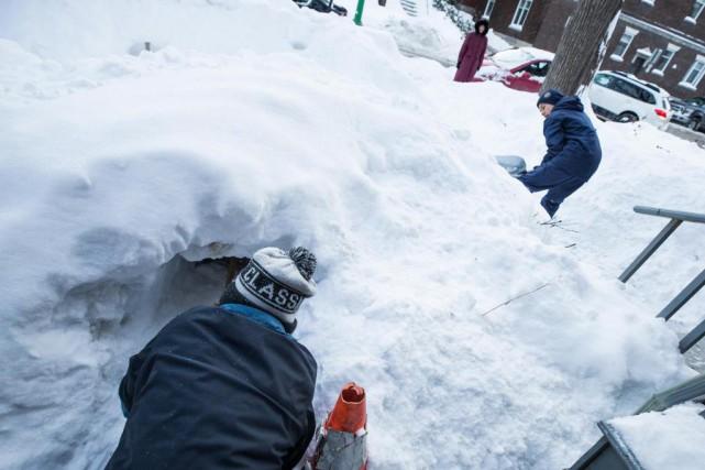 Les constructeurs portent une attention particulière aux tunnels.... (Photo Olivier PontBriand, La Presse)