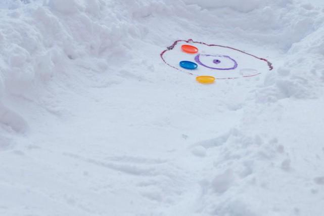 Avec les Jeux olympiques d'hiver, le curling gagne... (Photo David Boily, La Presse)