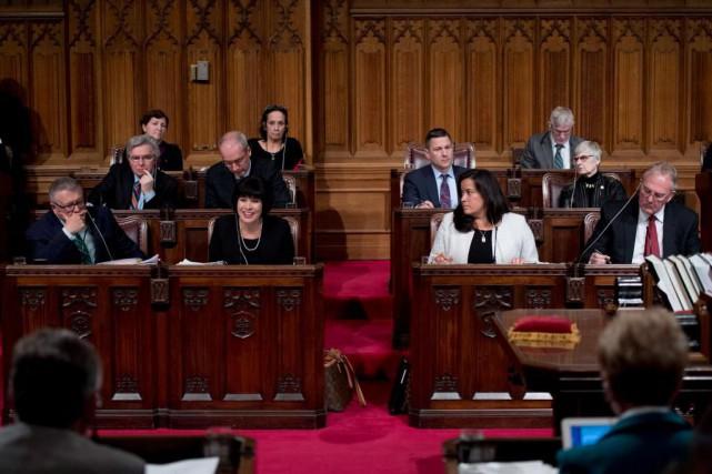 Plus tôt ce mois-ci, le ministre de la... (PHOTOJUSTIN TANG, LA PRESSE CANADIENNE)