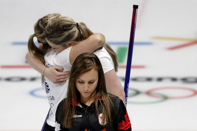Le quatuor mené par la skip Rachel Homan... (Photo Natacha Pisarenko, Associated Press)