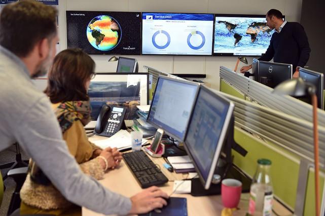 «L'océan est un très bon indicateur des changements... (REMY GABALDA, AFP)