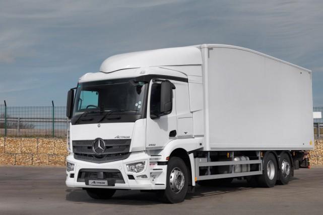 Daimler va dépenser l'équivalent de 780 millions de... (Photo : Mercedes-Benz)