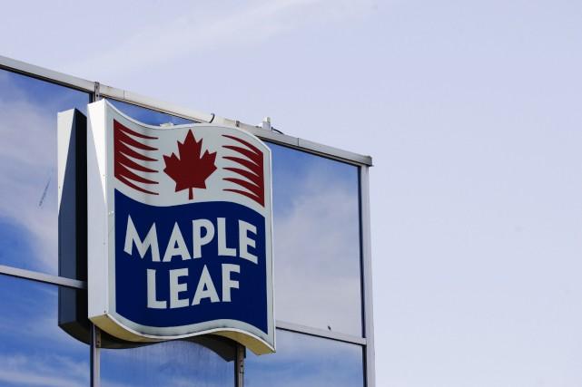 Maple Leaf a affiché un bénéfice trimestriel de... (Photo Mark Blinch, Archives Reuters)