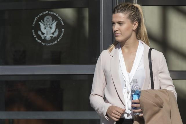 Eugenie Bouchardpoursuit l'Association américaine de tennis (USTA) après... (Photo Mary Altaffer, AP)