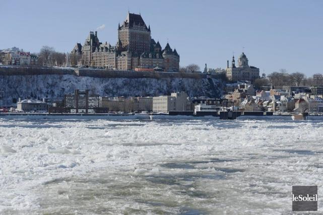 La Ville de Québec déversera 46 millions de litres d'eaux usées non traitées... (PHOTO PASCAL RATTHÉ, LE SOLEIL)