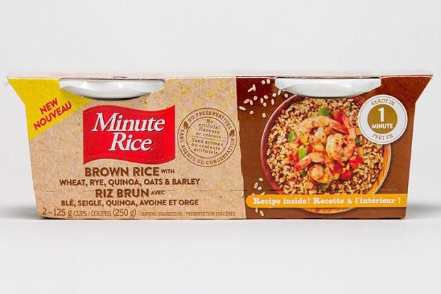 Ces coupes Minute Rice, qu'il suffit de réchauffer... (Photo Martin Tremblay, La Presse)