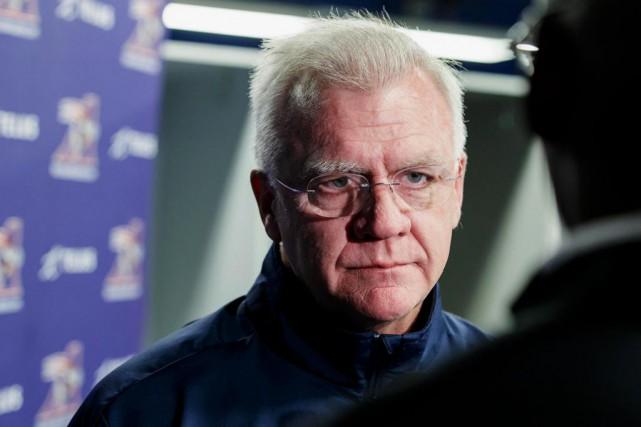 Mike Sherman, nouvel entraîneur-chef des Alouettes de Montréal,... (PHOTO ALAIN ROBERGE, LA PRESSE)
