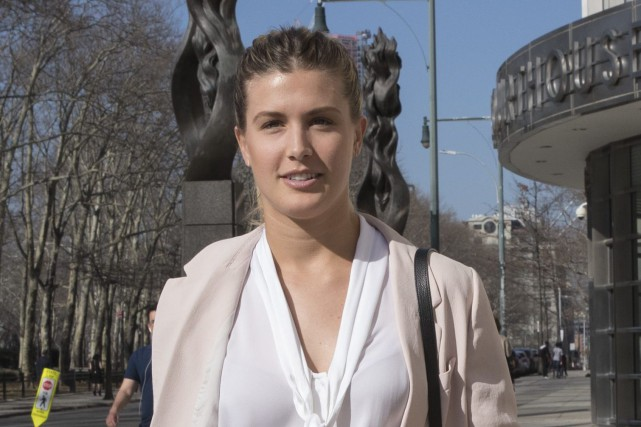 Eugenie Bouchard poursuit les organisateurs des Internationaux des États-Unis... (Photo Mary Altaffer, AP)