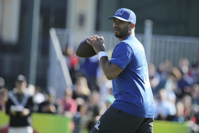 Russell Wilson... (Photo Gregory Payan, AP)