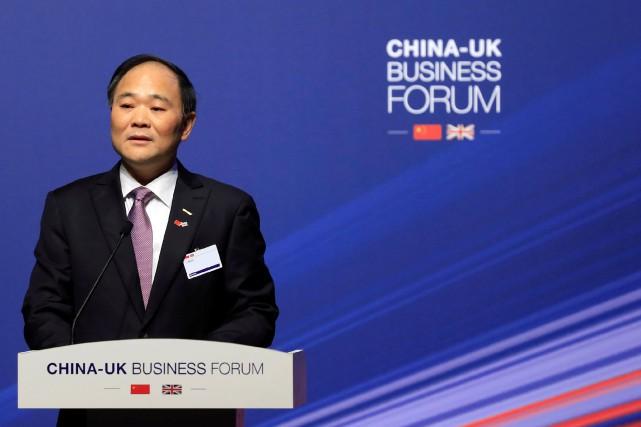 Li Shufu, président du conseil de Geely Holdings,... (photo : REUTERS)