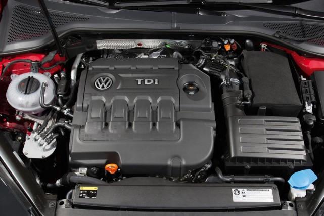 Un moteur diesel Volkswagen.... (Photo: Volkswagen)