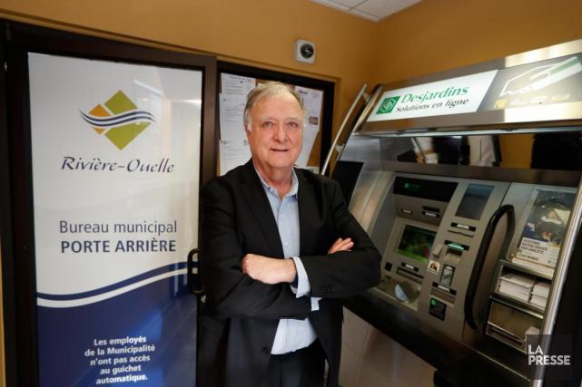 Louis-Georges Simard, maire de Rivière-Ouelle.... (PHOTO MARTIN CHAMBERLAND, LA PRESSE)