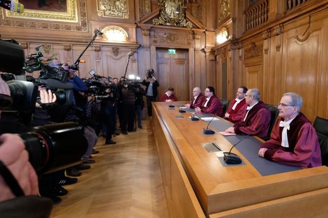 Un tribunal allemand a statué ce matin que... (photo AFP)