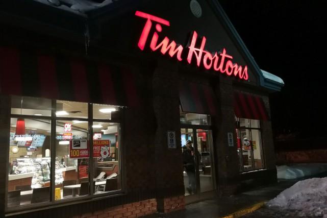 Tim Hortons a assuré que les données personnelles... (Photo Doug Ives, archives La Presse canadienne)
