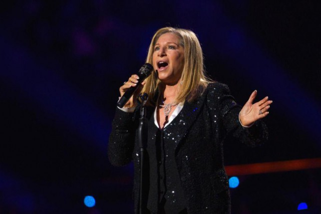 En entrevue pour la une duVarietycette semaine, Barbra Streisand se... (Photo archives Reuters)