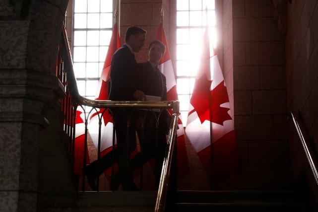 Le budget déposé par Bill Morneau inquiète certains... (Photo Blair Gable, REUTERS)