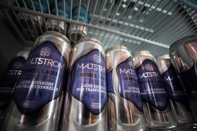 La microbrasserie Malstrom de Lanaudière, s'est retrouvée dans... (Photo Olivier PontBriand, La Presse)