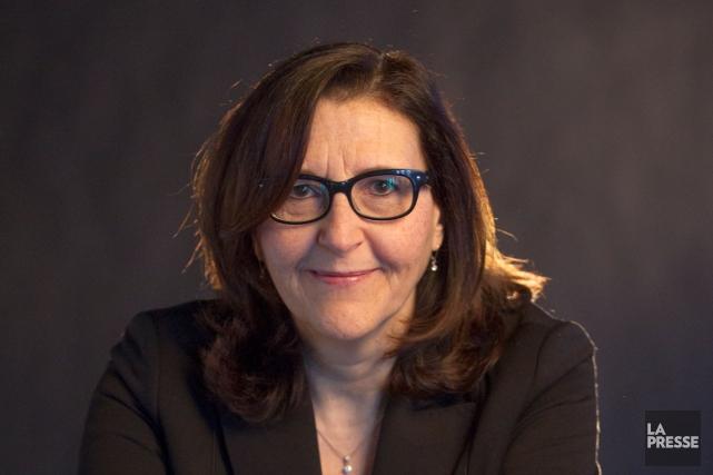 Louise Lantagne devient la nouvelle présidente-directrice générale de... (Photo Ivanoh Demers, archives La Presse)