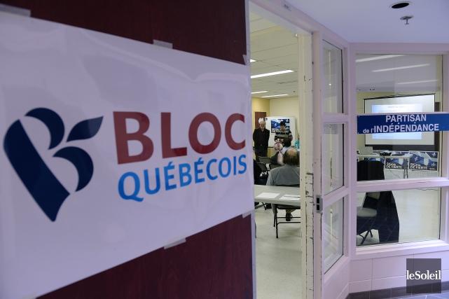 Le Bloc québécois compte aujourd'hui trois députés, les... (Photo archives Le Soleil)