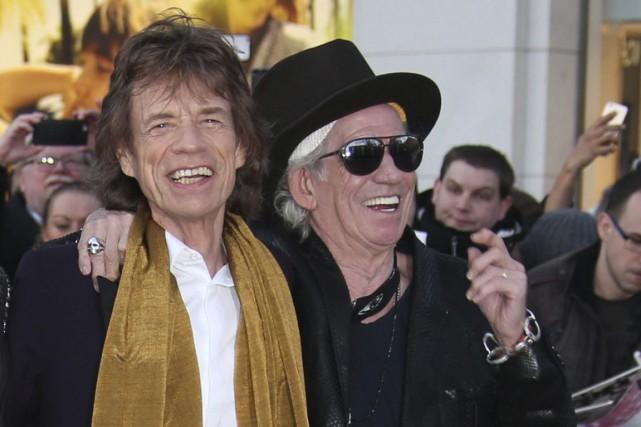 Mick Jagger et Keith Richards... (Photo Joel Ryan, AP)