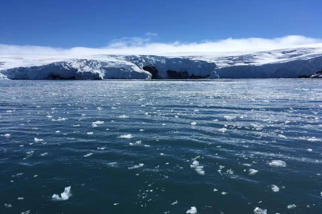 L'Antarctique concentrant 62% des réserves d'eau douce de... (Photo Mathilde Bellenger, Agence France-Presse)