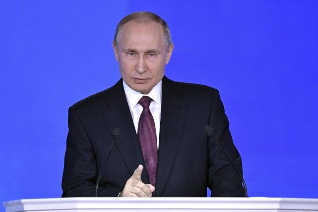 Vladimir Poutine... (Photo Alexei Nikolskyi, REUTERS/Sputnik)