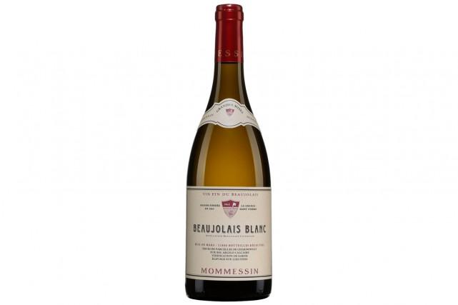 Mommessin Grandes Mises Beaujolais Blanc 2014... (Photo fournie par la SAQ)