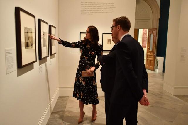 Kate, la duchesse de Cambridge, a choisi et... (Photo AFP)