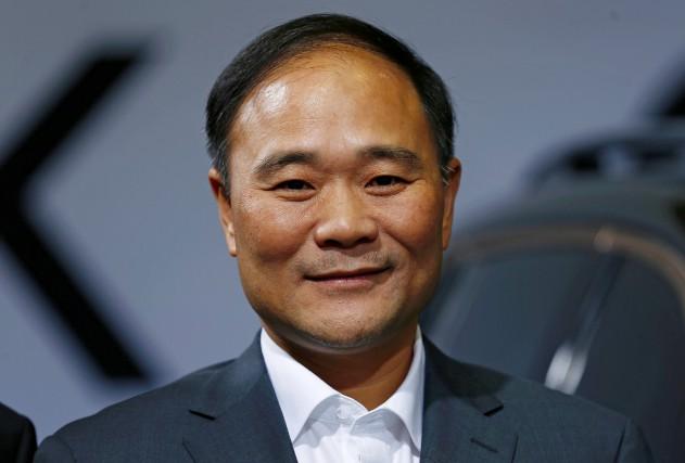 Li Shufu, fondateur et président du constructeur automobile... (photo d'archives REUTERS)