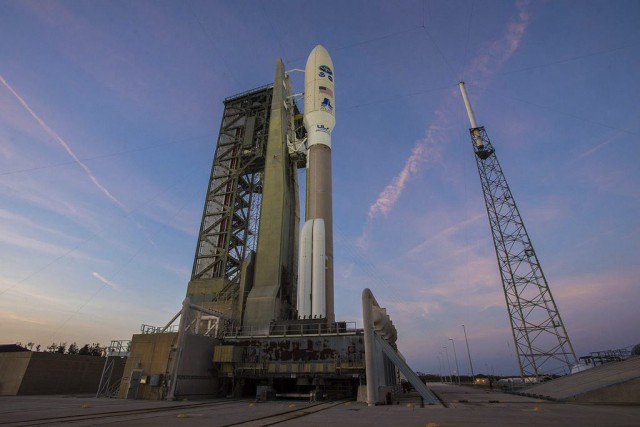 La fusée Atlas V a décollé jeudi à... (PHOTO AP)