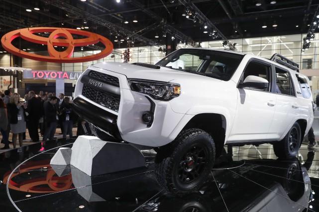 Le constructeur japonais Toyoto a vendu en 2017... (Photo /Charles Rex Arbogast, AP)