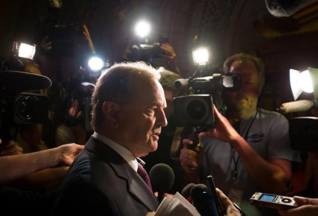 Deux sénateurs de premier plan - dont le... (PhotoFred Chartrand, Archives La Presse canadienne)