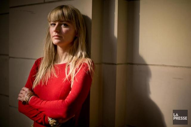 La journaliste Anne-SophieJahn s'est penchée sur les excès... (Photo David Boily, La Presse)