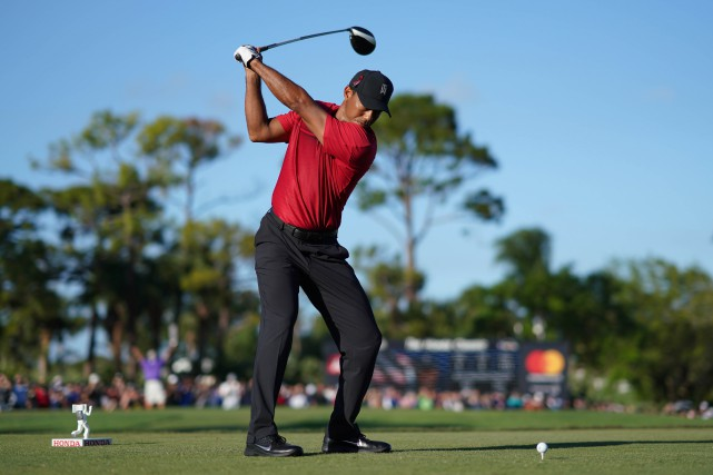 Tiger Woods a terminé 12e la semaine dernière à... (Photo Jasen Vinlove, USA Today Sports)