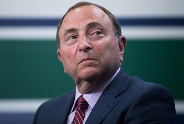 Le commissaire de la LNH, Gary Bettman.... (Photo Darryl Dyck, PC)