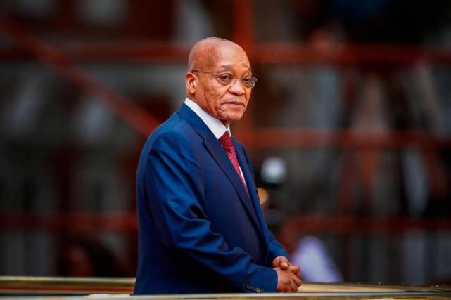 Jacob Zuma a quitté la présidence de l'Afrique... (PHOTO NIC BOTHMA, ARCHIVES AGENCE FRANCE-PRESSE)