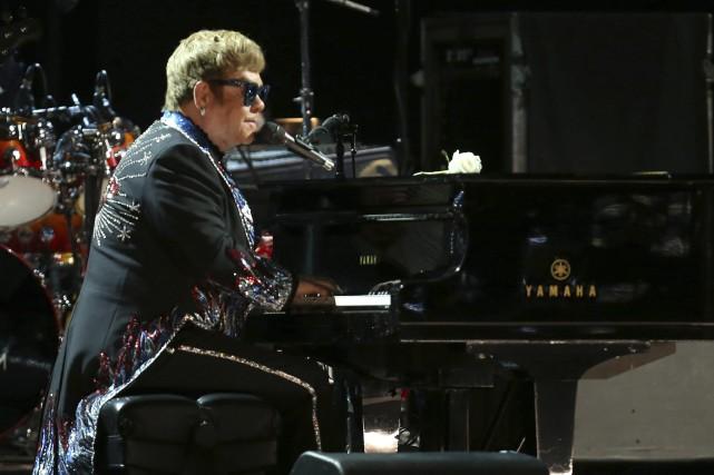 Elton John... (Matt Sayles/Invision/AP)