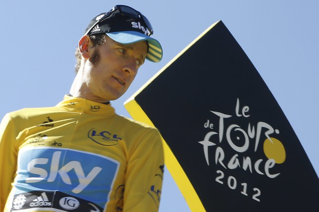 Bradley Wiggins a remporté le Tour de France... (Photo Laurent Cipriani, archives AP)
