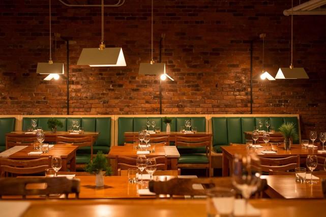 Le restaurant Candide accueille le duo derrière Patrice... (Photo fournie par Le Candide)