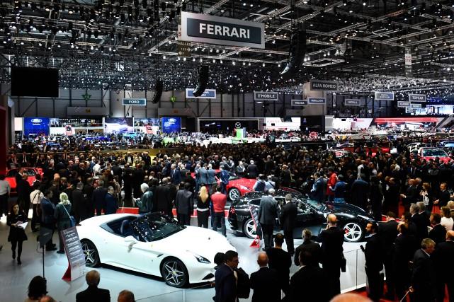 Le Salon international de l'auto et accessoires de... (AFP)
