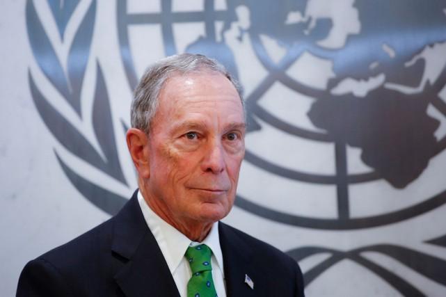 L'ancien maire de New York Michael Bloomberg est... (Photo KENA BETANCUR, Agence France-Presse)