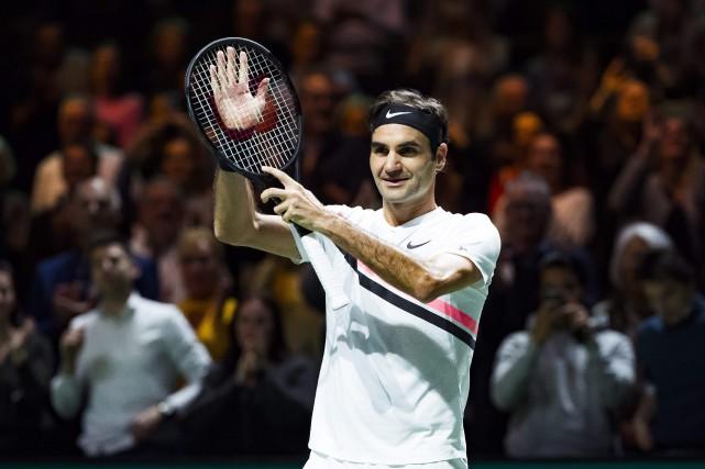 Roger Federern'a perdu que trois sets en douze... (Photo Koen Suyk, AFP)