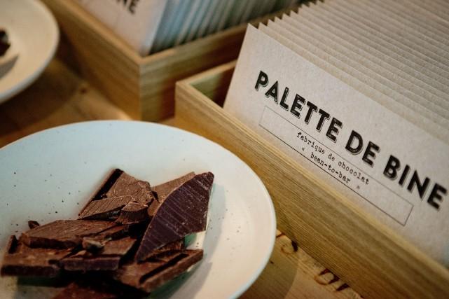 La nouvelle fabrique de Palette de bine est... (Photo Marco Campanozzi, La Presse)