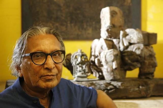 Balkrishna Doshi... (Photo Ajit Solanki, Associated Press)
