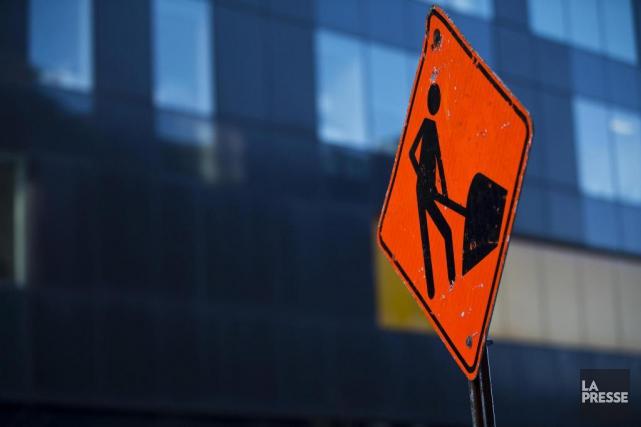 Sur les chantiers de construction québécois, les femmes... (PHOTO OLIVIER JEAN, ARCHIVES LA PRESSE)
