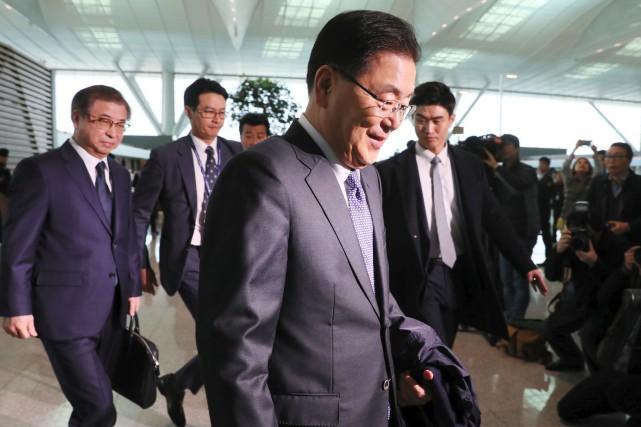 «Nous avons un message de la Corée du... (PHOTO AFP)
