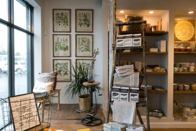 La boutique Maison Trika est située dans un... (Photo François Roy, La Presse)