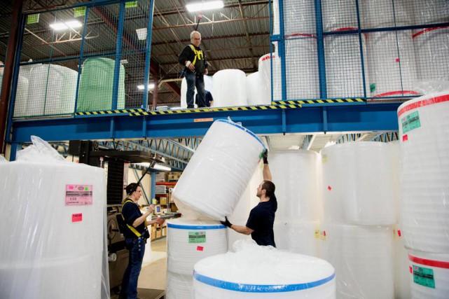 Emballages Carrousel conçoit des solutions d'emballage «adaptées en... (Photo Alain Roberge, La Presse)